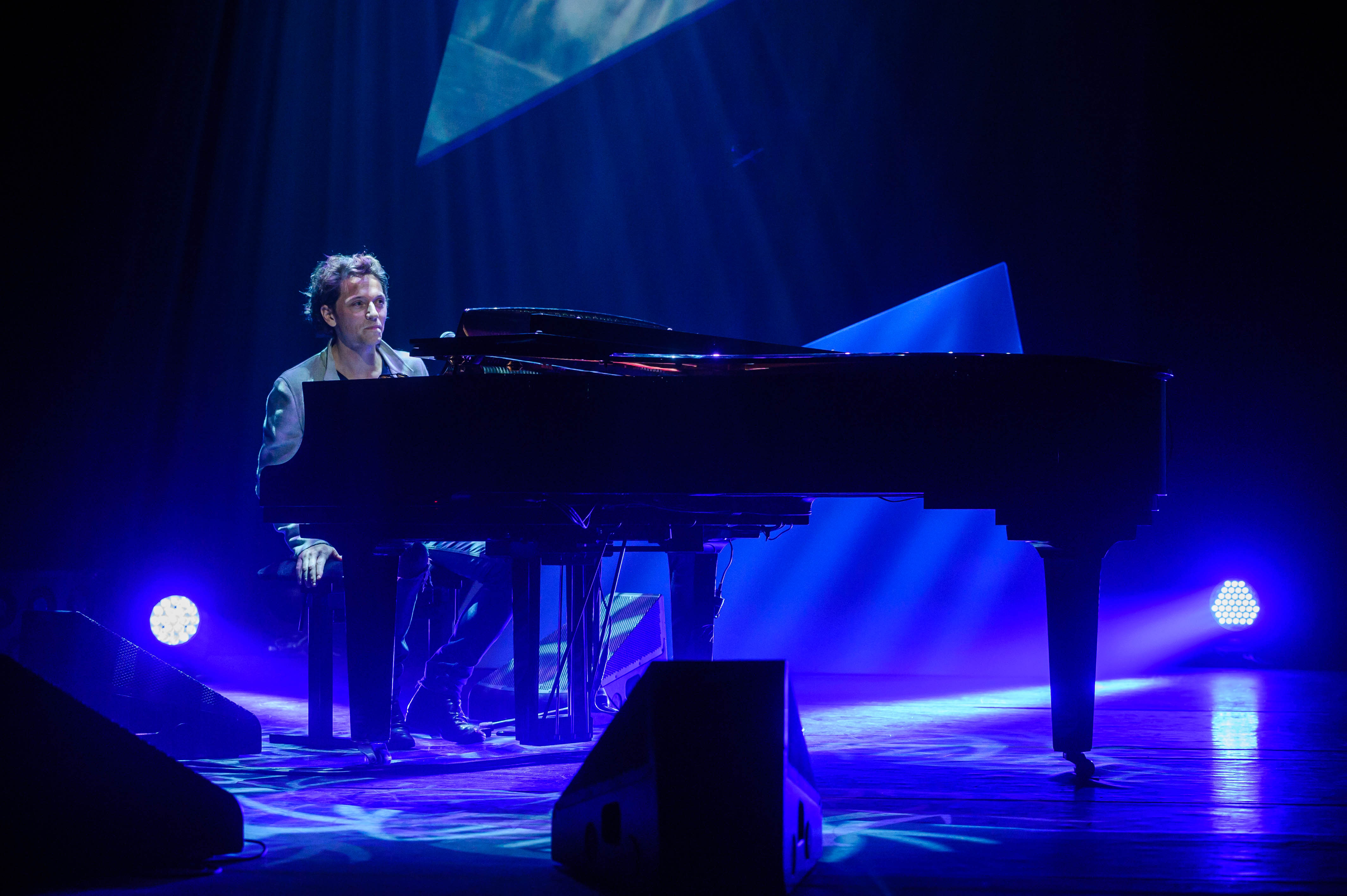 Raphael au piano © Capa Pictures / Europe 1