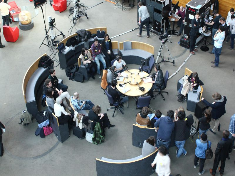 Radio Campus au Parlement Européen