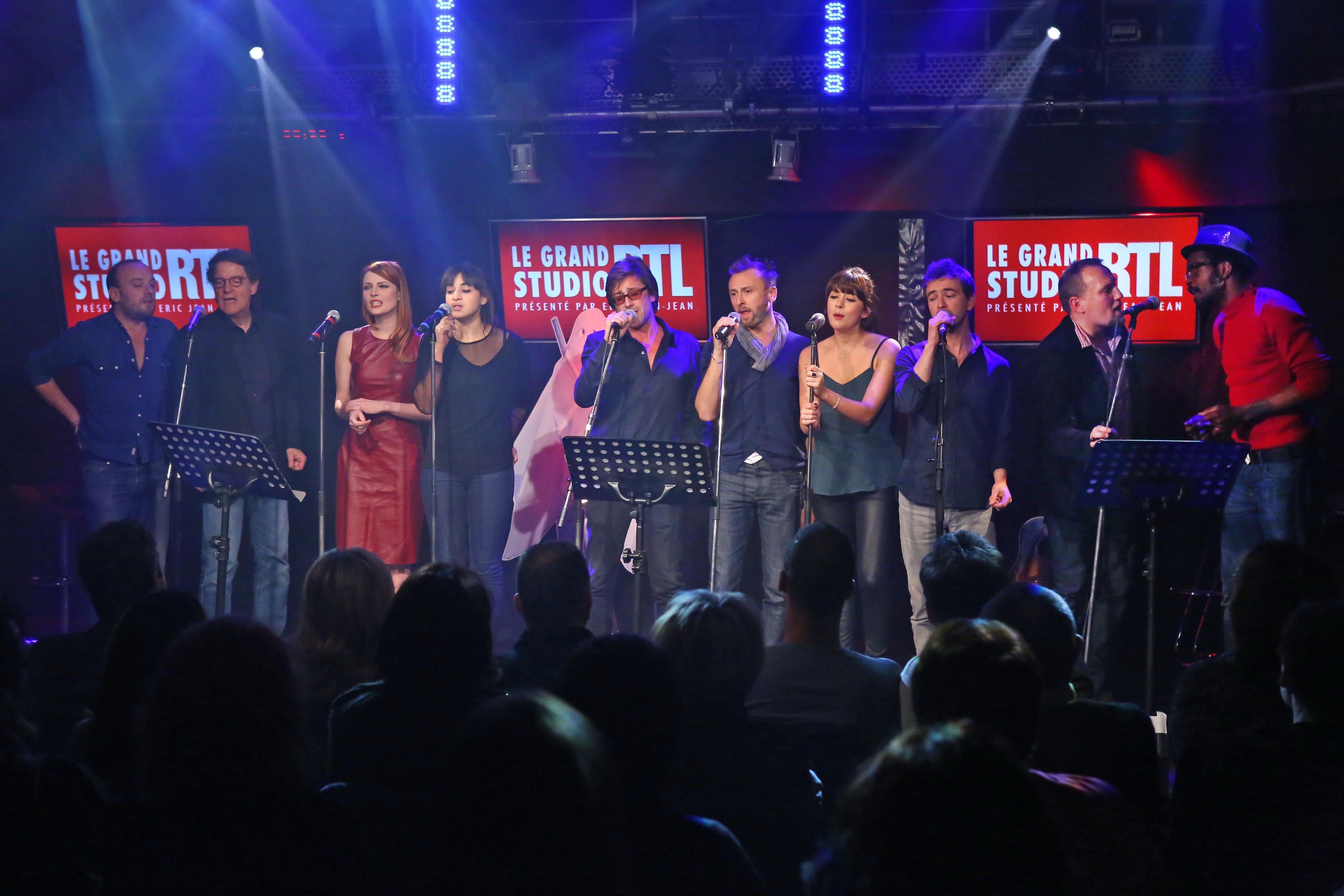 De Thomas Dutronc à Francis Cabrel dans Le Grand Studio RTL © Fred Bukajilo Abaca Press pour RTL