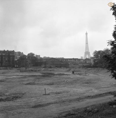 Le terrain d'origine : 116 quai de Passy, Paris © Radio France / photothèque de Radio France