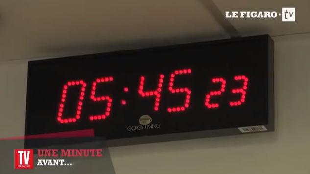 """Dans les coulisses : """"une minute avant"""""""