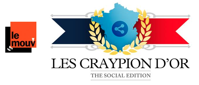 Les Craypion d'Or sur Le Mouv'