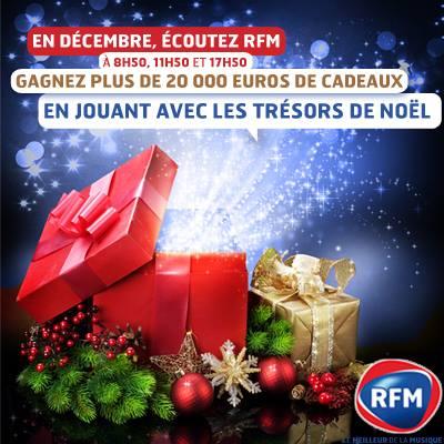 RFM au marché de Noël de Strasbourg