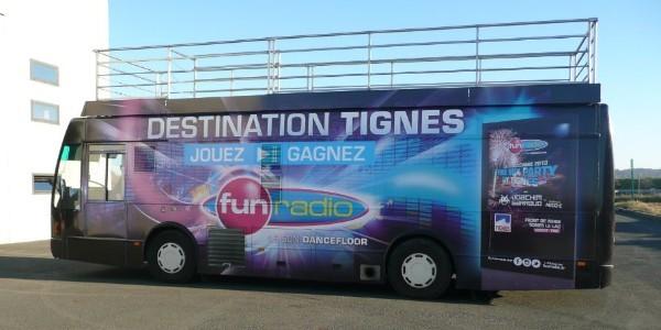 Le Bus Fun Radio sera ce jeudi soir de 21h à 22h au Bowlcenter à Échirolles
