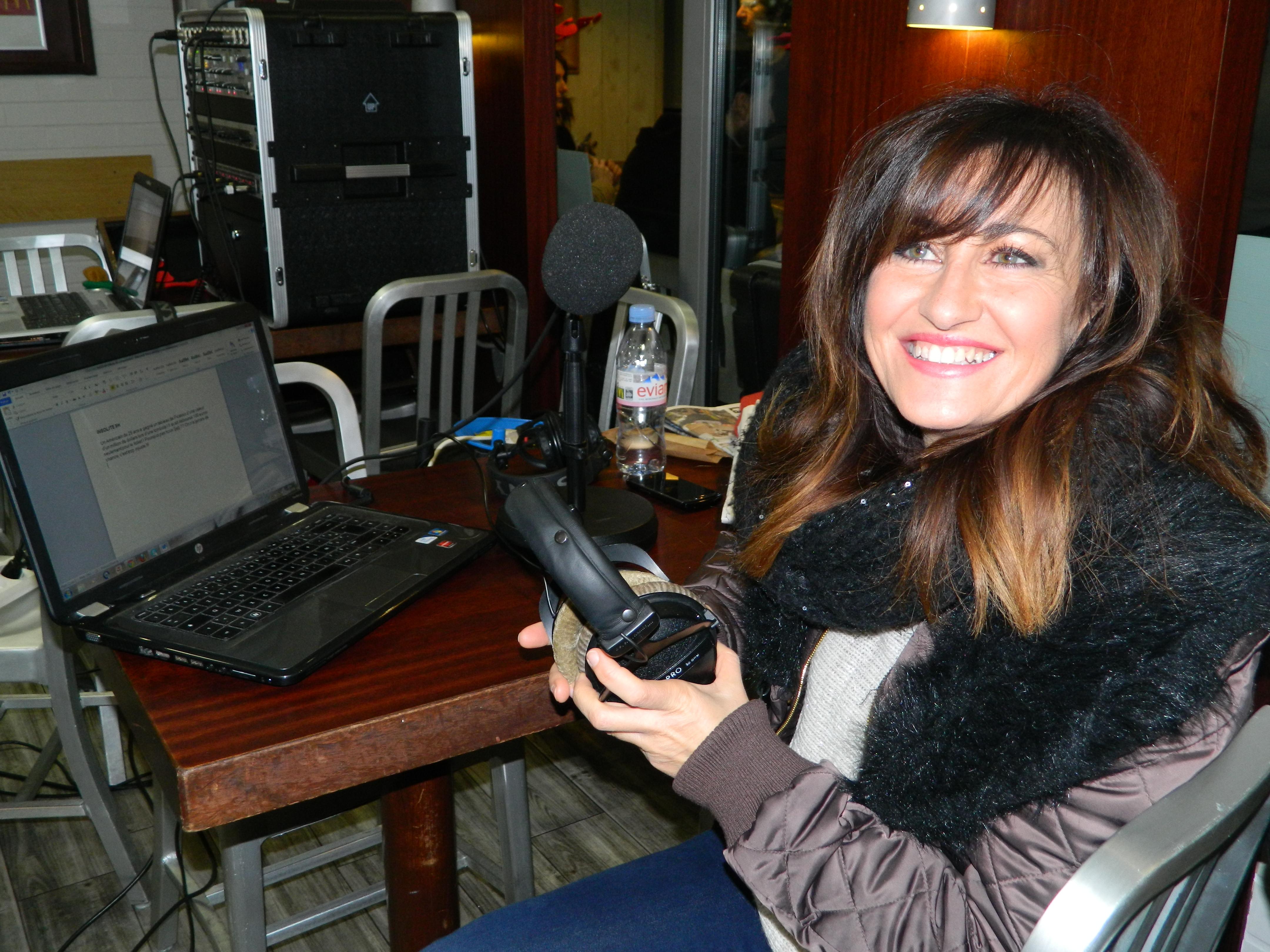 Tina Sanchez, journaliste de terrain!