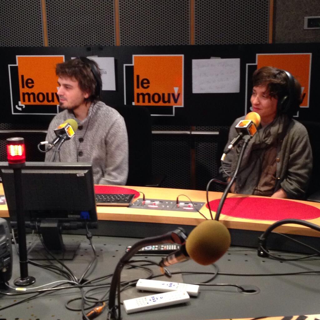 François Sauvestre et Aurélie Champagne dès lundi à 07h © Twitter Le Mouv'