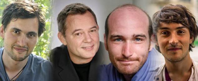 Pierre Torrès, Didier François, Nicolas Hénin et Edouard Elias par Benoit Schaeffer