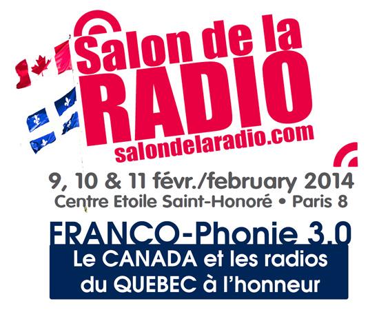 Salon de la Radio : bienvenue au Québec