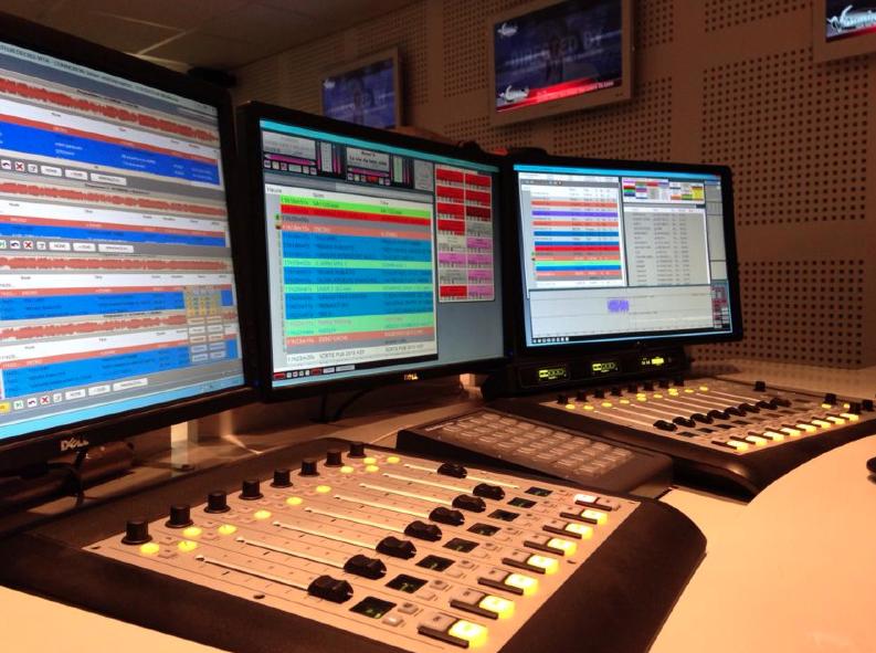 Une radio filmée au Salon de la Radio