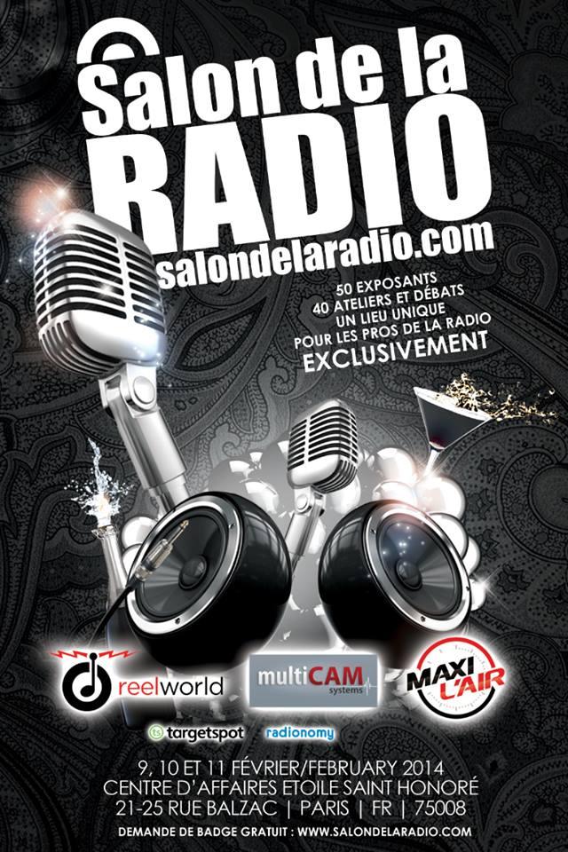 Les coulisses du Salon de la Radio