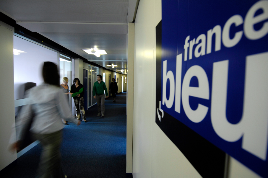 On s'active déjà dans les couloirs de France Bleu© Christophe Abramowitz - Radio France