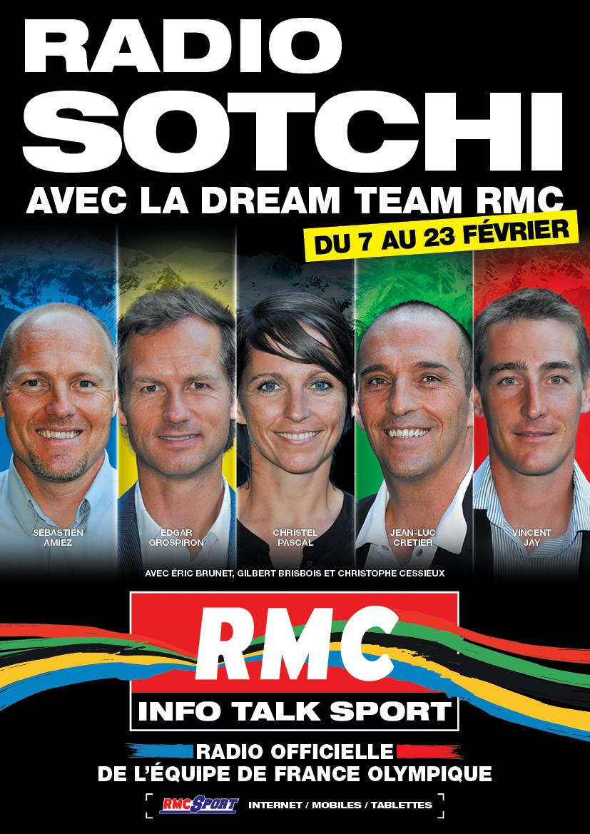 "RMC devient ""Radio Sotchi"""