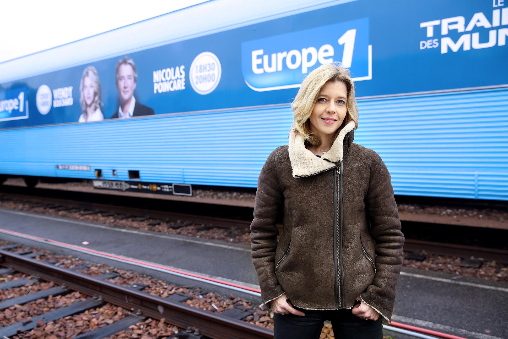 Wendy Bouchard animera sa quotidienne depuis le Train Europe 1 des Municipales