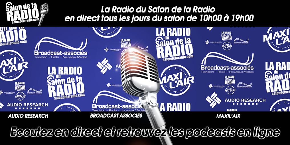 La Radio du Salon de la Radio est On Air !
