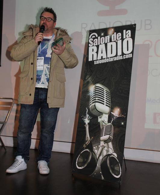 Le Prix ON'R Qualifio de la Meilleure Radio Francophone Privée a été remis à Philippe Martin directeur des programmes de Rouge FM