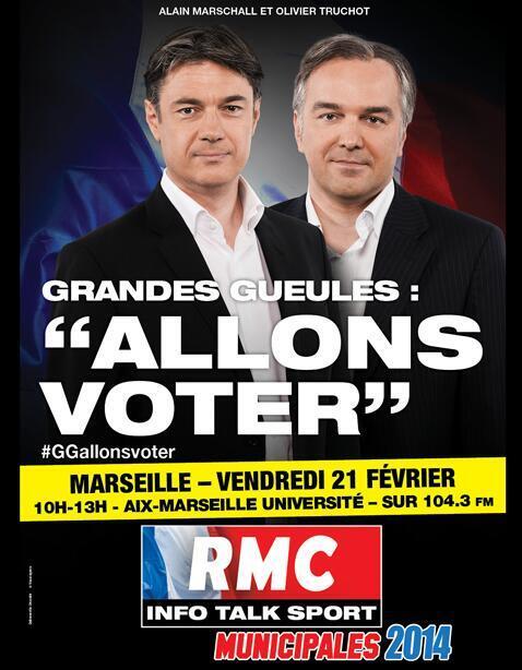 Les Grandes Gueules à Marseille