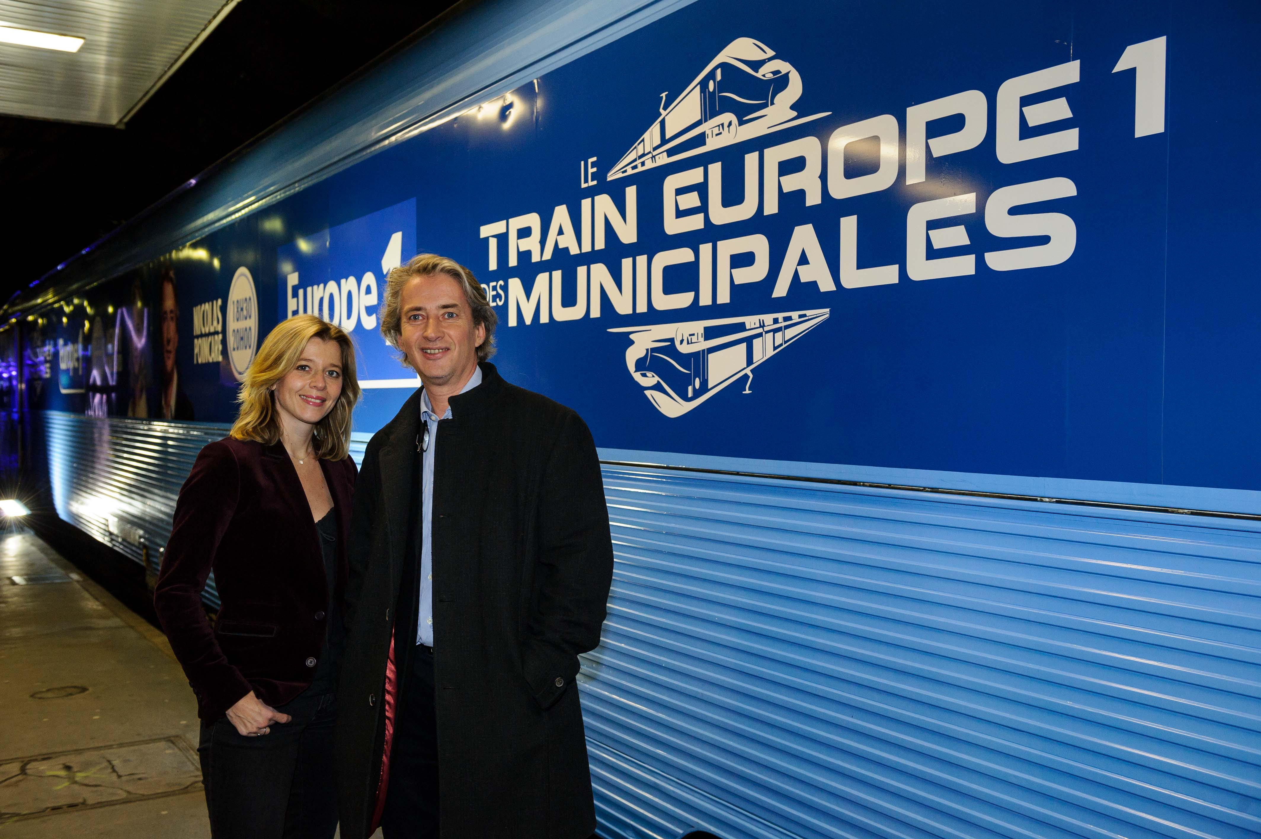 Wendy Bouchard et Nicolas Poincaré, des habitués du Train Europe 1