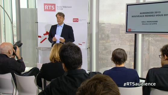 Gilles Marchand, directeur de la RTS