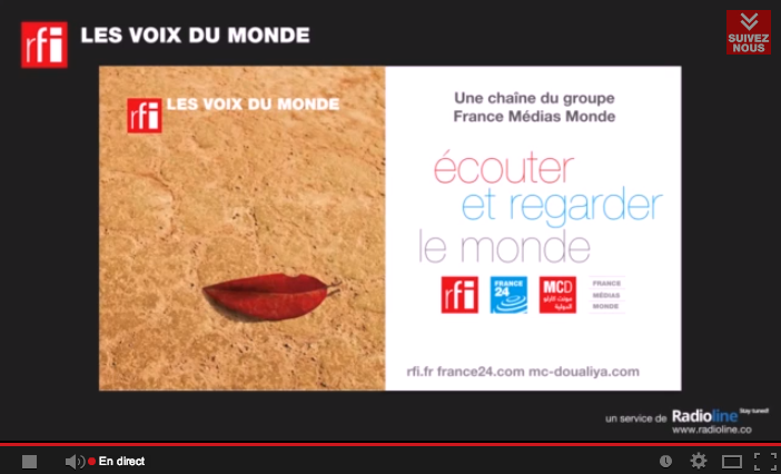 RFI s'enrichit sur YouTube