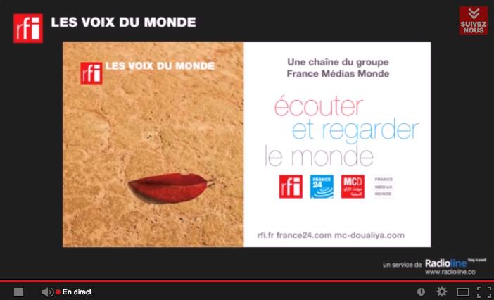 RFI s'enrichit sur YouTube