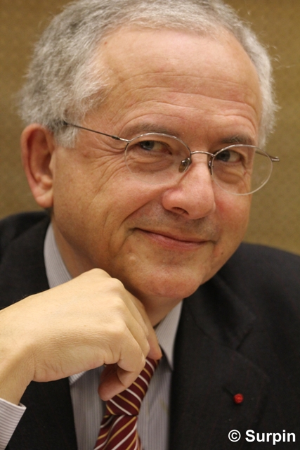 Olivier Schrameck, premier président de l'ERGA © Serge Surpin