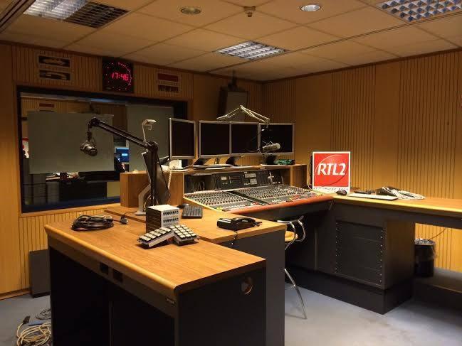 Les studios de RTL2 Luxembourg font probablement restés quelques temps en chantier...