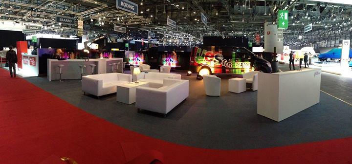 Un stand de 125 m2 est entièrement dédié à la présentation de Yes FM