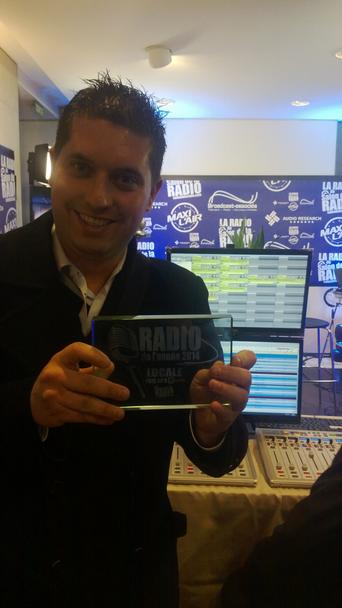 Sylvain Jourdain en février dernier au Salon de la Radio