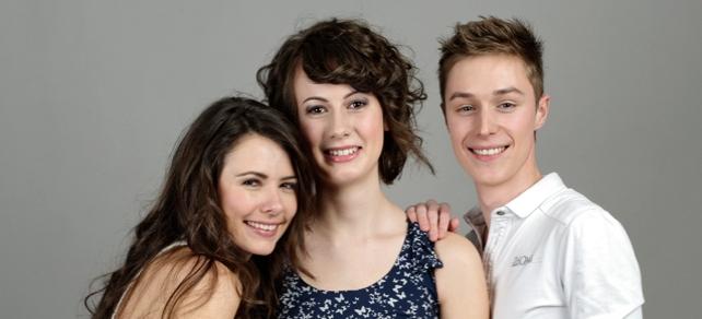 Chloé, Maurine et William, les gagnants du grand casting Tendance Ouest