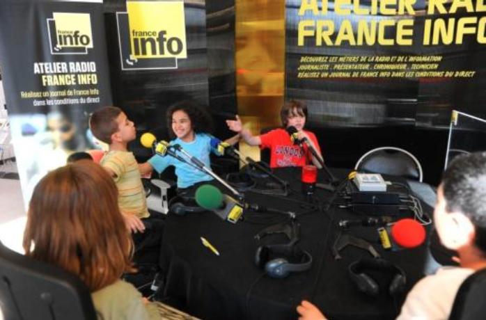 france info   un atelier radio pour les jeunes