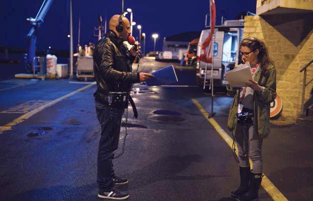 RTL Petit Matin en direct du port de pêche de La Côtinière de l'Ile d'Oléron, en juin dernier © Elodie Grégoire pour RTL