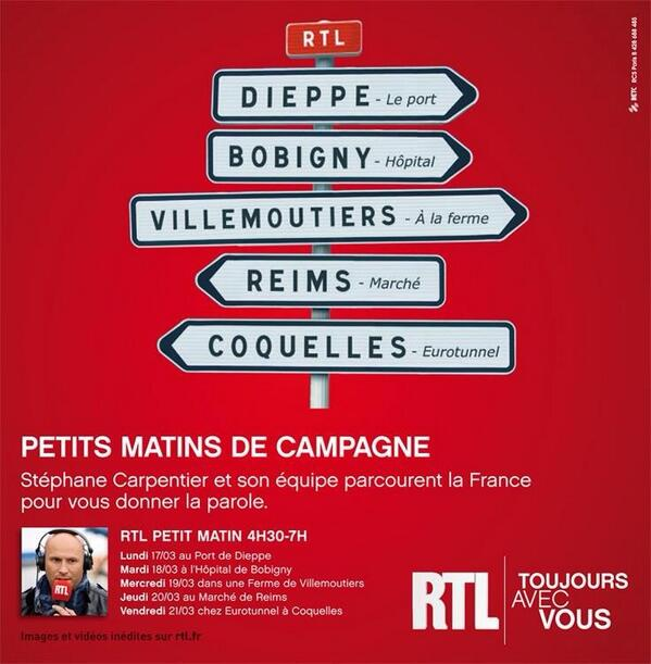 "RTL lance les ""Petits Matins de Campagne"""