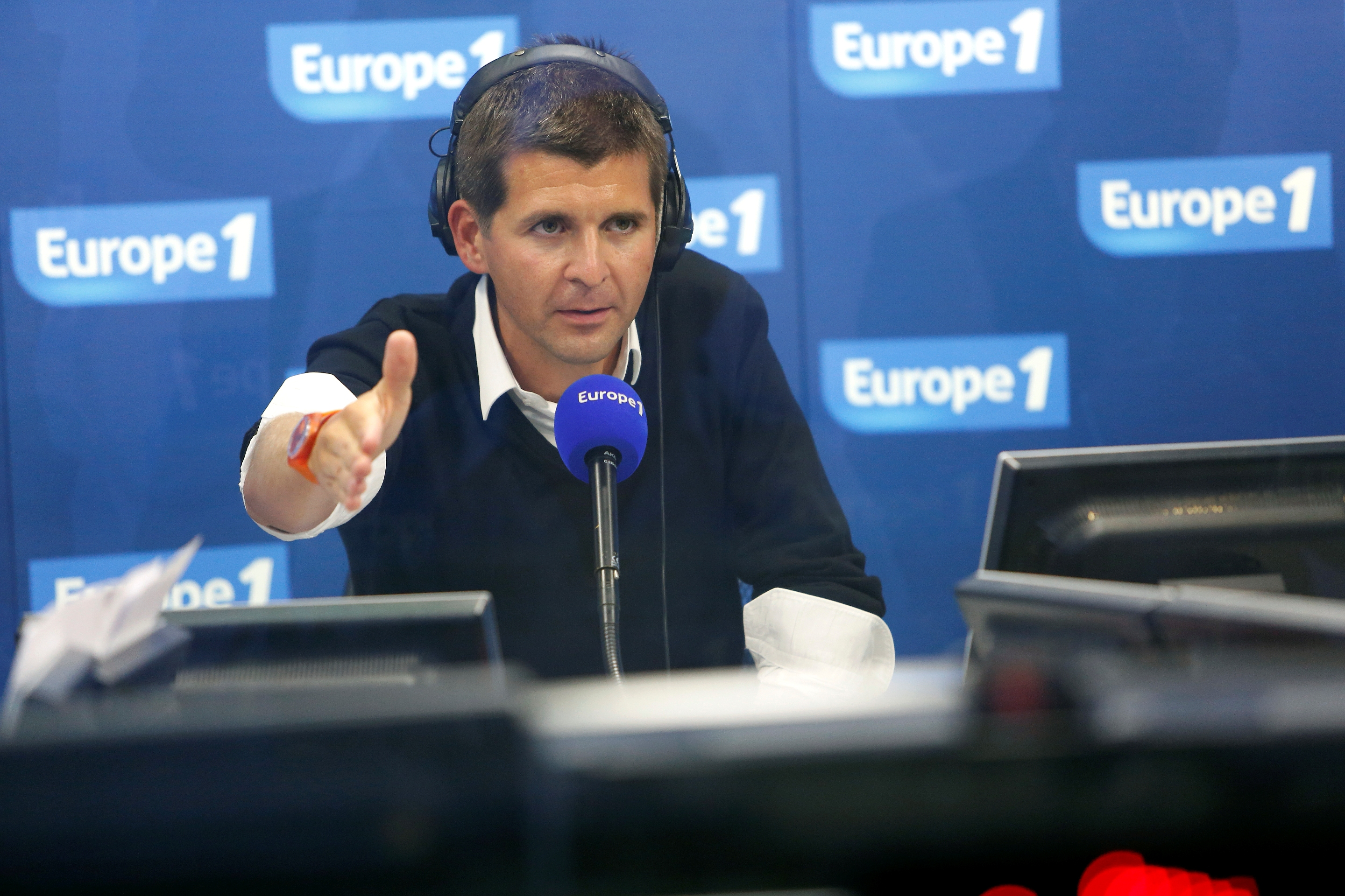 Thomas Sotto © Julien Lutt - Capa Pictures - Europe 1