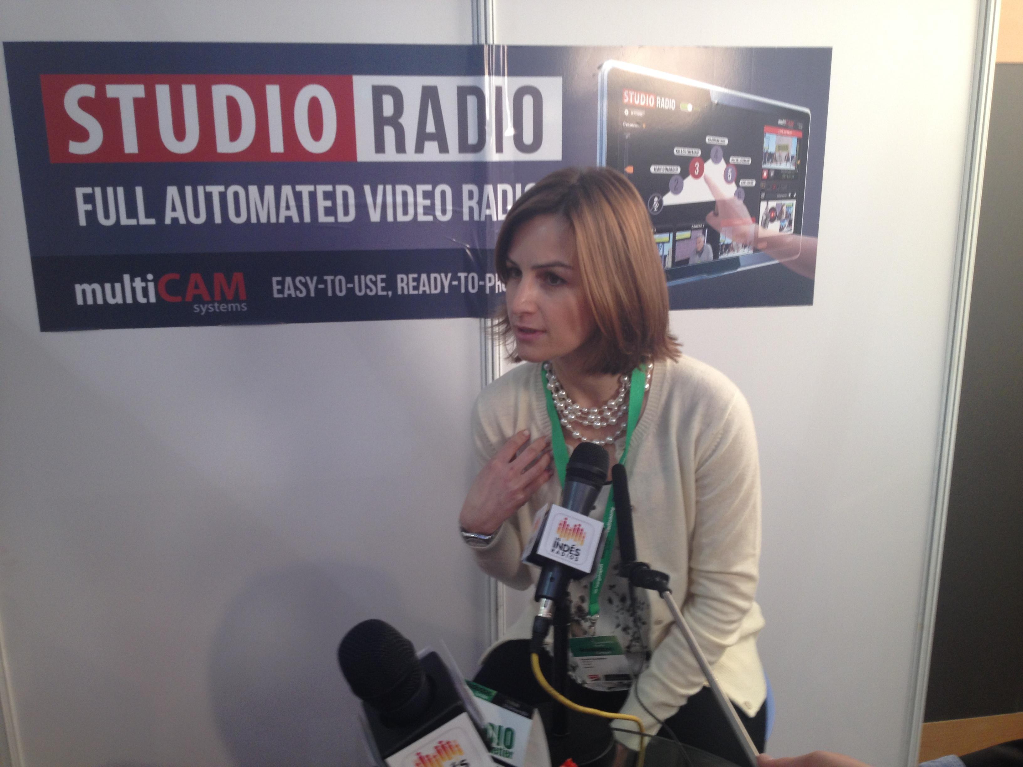 La consultante et universitaire portugaise Paula Cordeiro qui rejoindra prochainement l'équipe de La Lettre Pro de la Radio