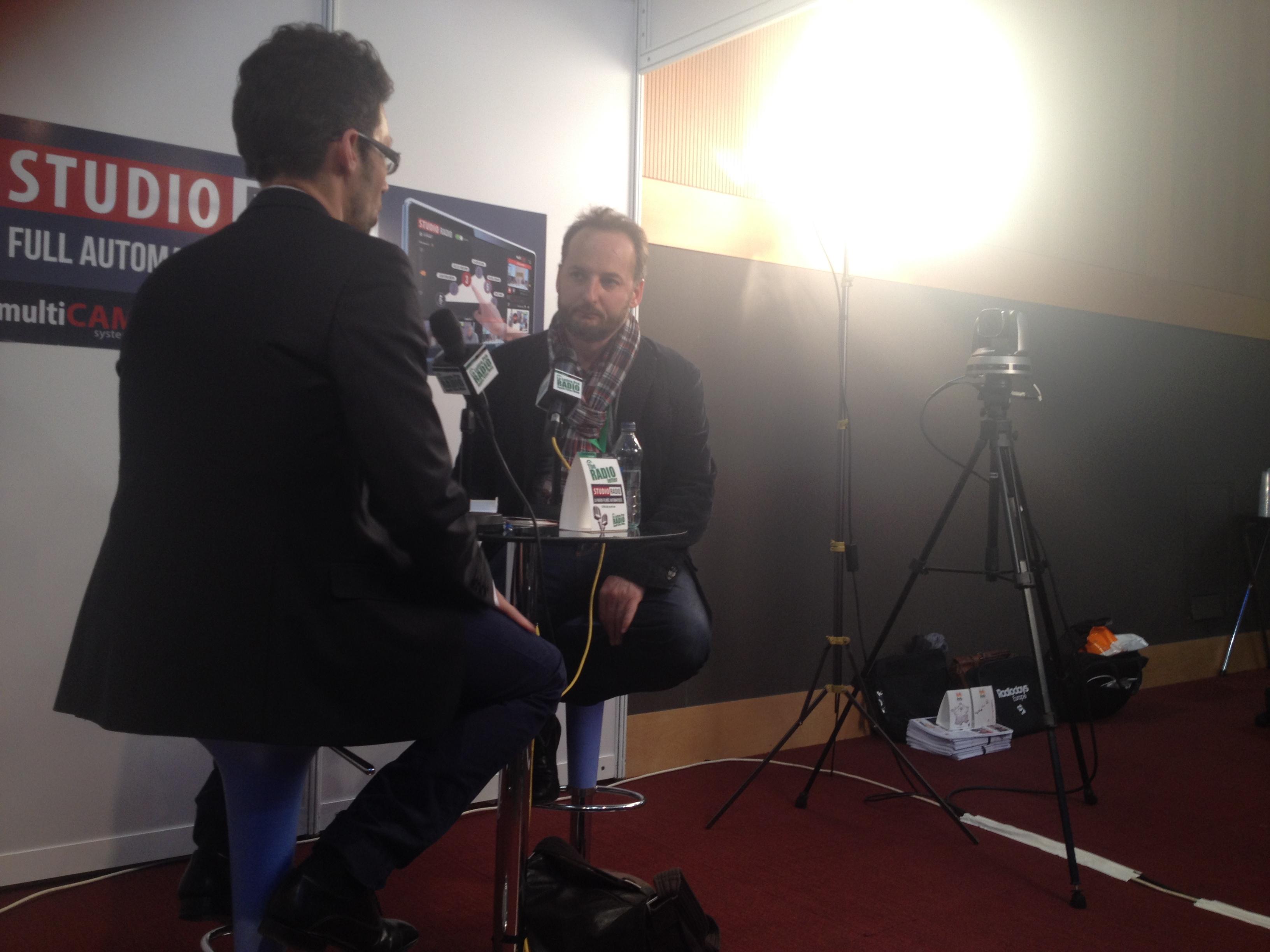 Joël Ronez le directeur du Mouv' et des Nouveaux Médias à Radio France