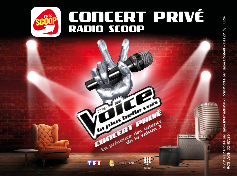 Radio Scoop : succès du concert The Voice