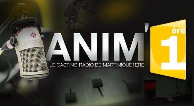 Gagnez un contrat d'animateur sur Martinique 1ère