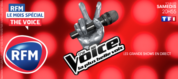 """La """"Totale"""" The Voice sur RFM"""