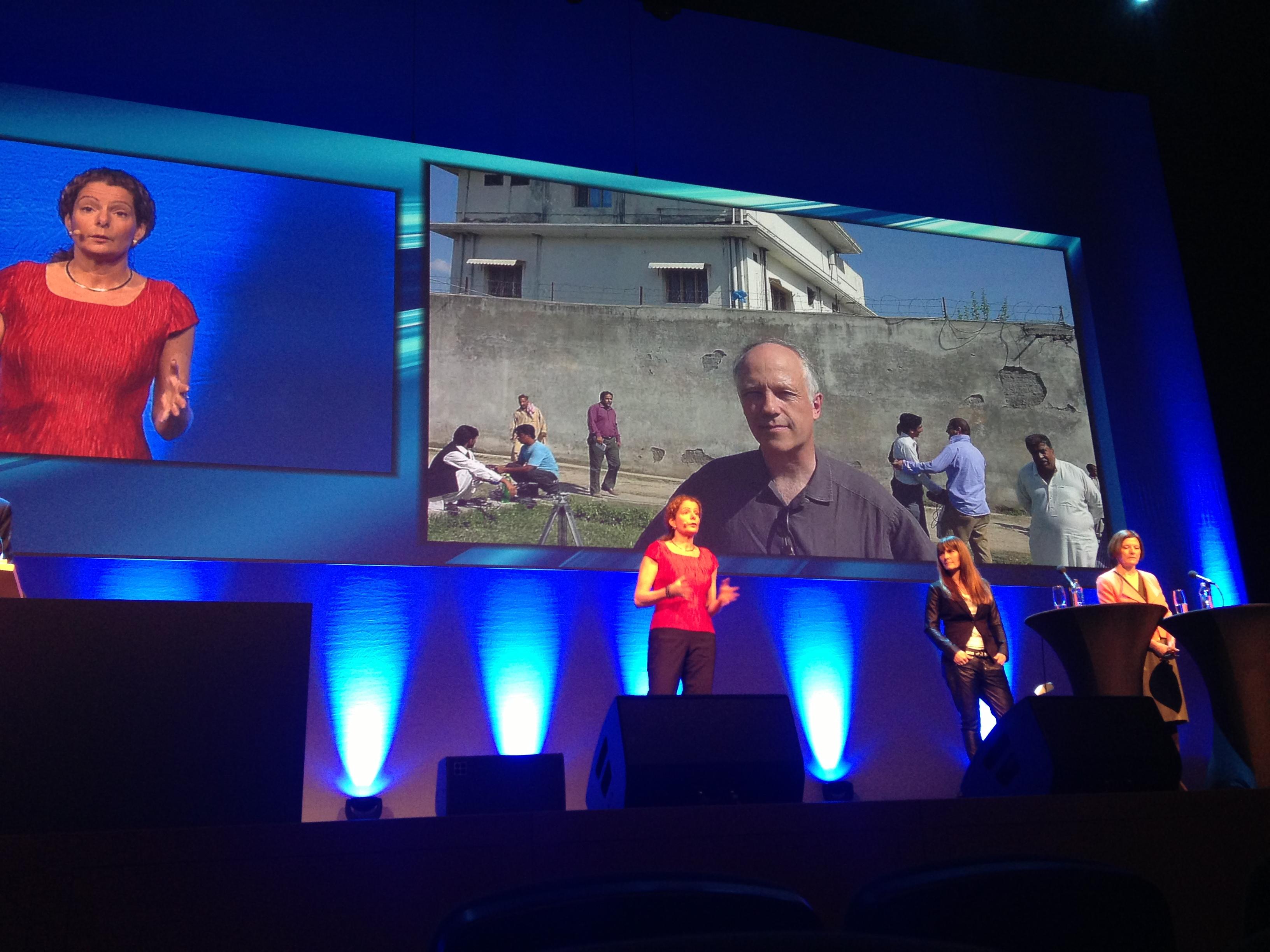 Conférence d'ouverture, avec Cilla Benkö