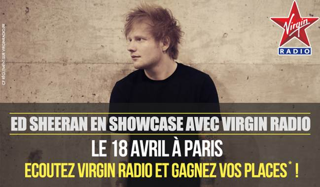 Ed Sheeran sur Virgin Radio