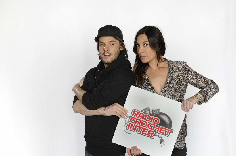 "Orelsan et Zazie, le jury ""Artiste"" du radio crochet de France Inter © Christophe Abramowitz"