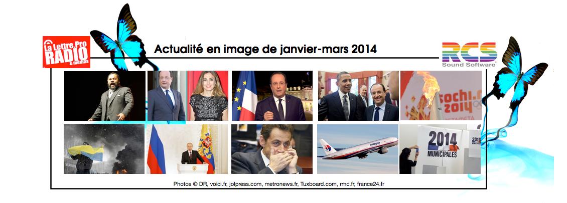 126 000 - Les événements en images de la période Janvier-Mars 2014