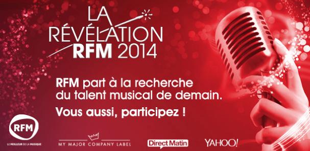 RFM cherche le talent musical de demain
