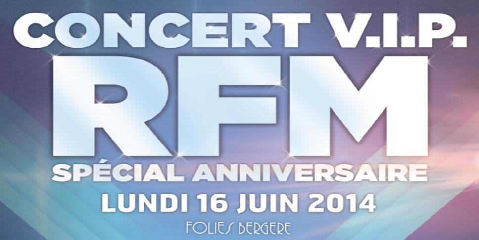 RFM fête son anniversaire