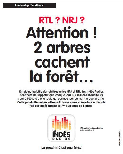 NRJ Group gagne son procès face aux Indés Radios