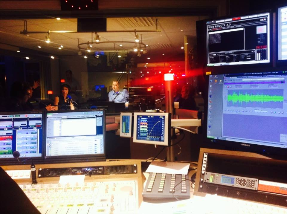 Les studios de France Bleu Nord à Lille