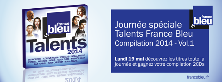 "Parution de ""Talents France Bleu 2014"""