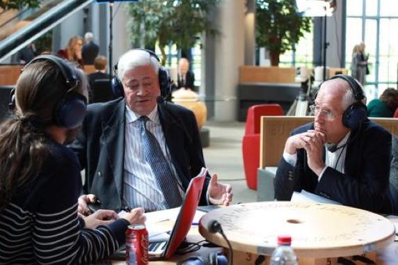 Radio Campus est une habituée du Parlement Européen et de ses acteurs
