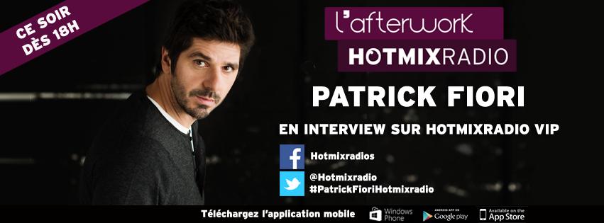 Patrick Fiori sur Hotmix Radio
