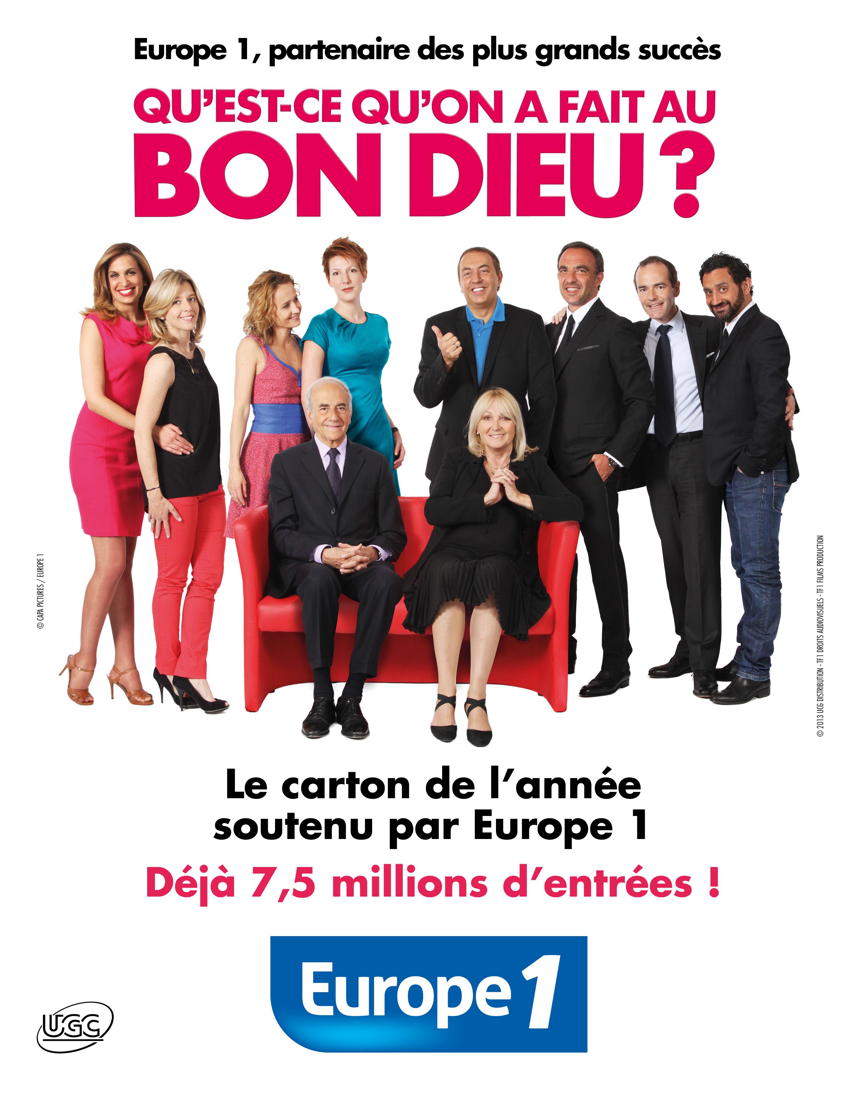 La vraie-fausse affiche d'Europe 1 © Frédéric Mouroux CAPA Pictures